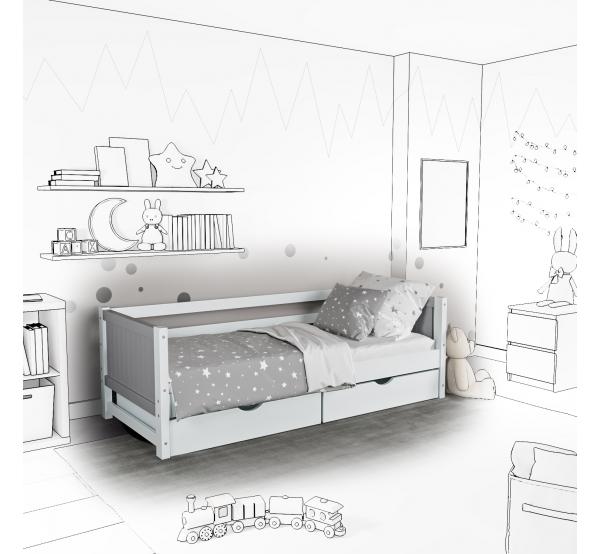 Детская кровать-софа Monty с подъемным механизмом