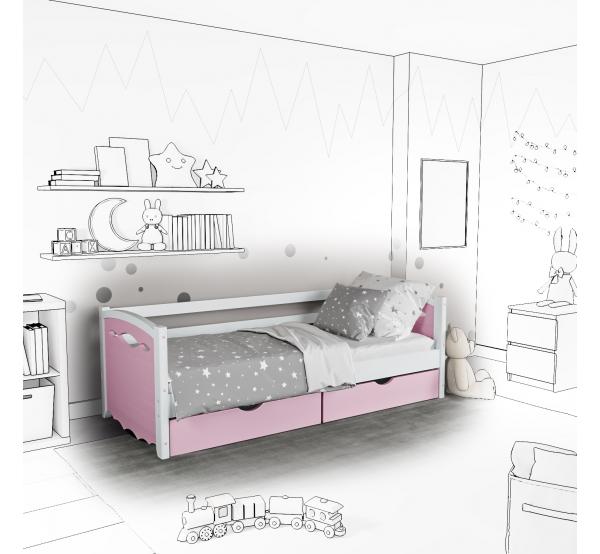Детская кровать-софа Novus с ящиками