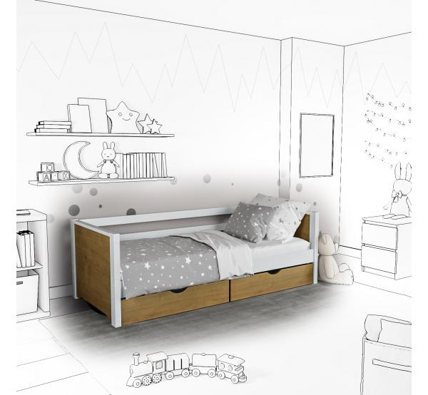 Детская кровать-софа Ronni с подъемным механизмом
