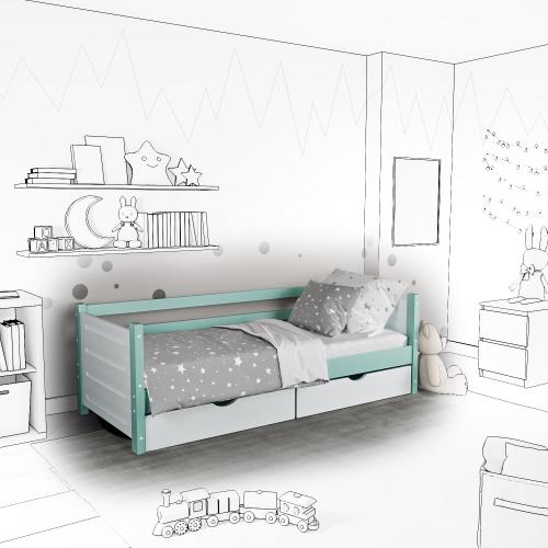 Детская кровать-софа Tokka с подъемным механизмом