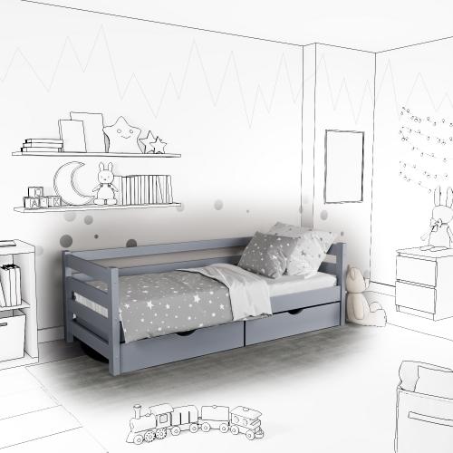Детская кровать-софа Tomas с ящиками