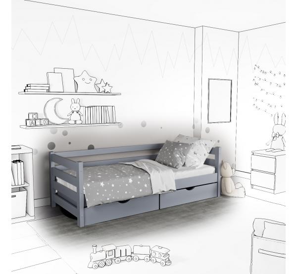 Детская кровать-софа Tomas с подъемным механизмом