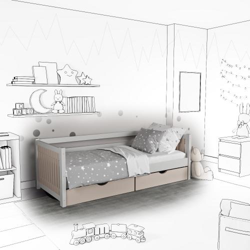 Детская кровать-софа Totty с ящиками