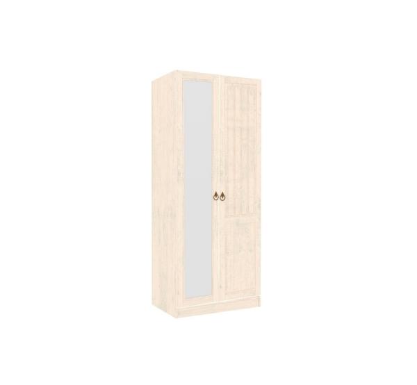 Шкаф двухстворчатый с 1 зеркалом Амели