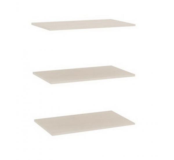 Комплект полок к одностворчатому шкафу Амели (3шт)