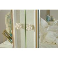 Шкаф четырехстворчатый с зеркалом Луиза