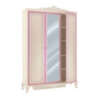 Шкаф трехстворчатый с зеркалом Маркиза