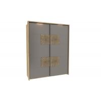 Шкаф одностворчатый с декоративными накладками Фиджи