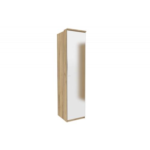 Шкаф одностворчатый с зеркалом Антрацит Фиджи