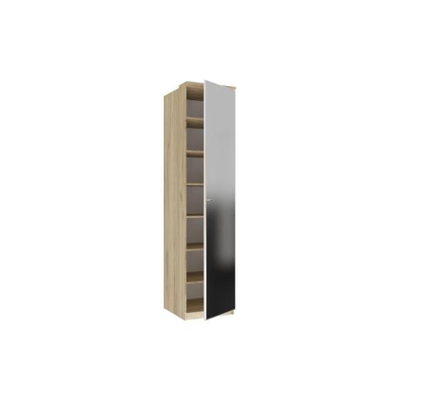 Шкаф одностворчатый с зеркалом Фиджи