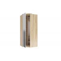 Шкаф угловой 45° с зеркалом Фиджи