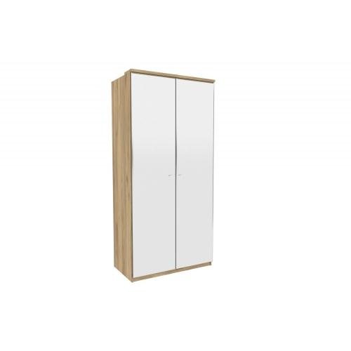 Шкаф двухстворчатый с 2-мя зеркалами Фиджи