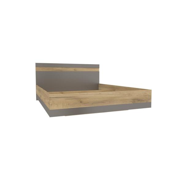 Кровать 1600  Антрацит Фиджи