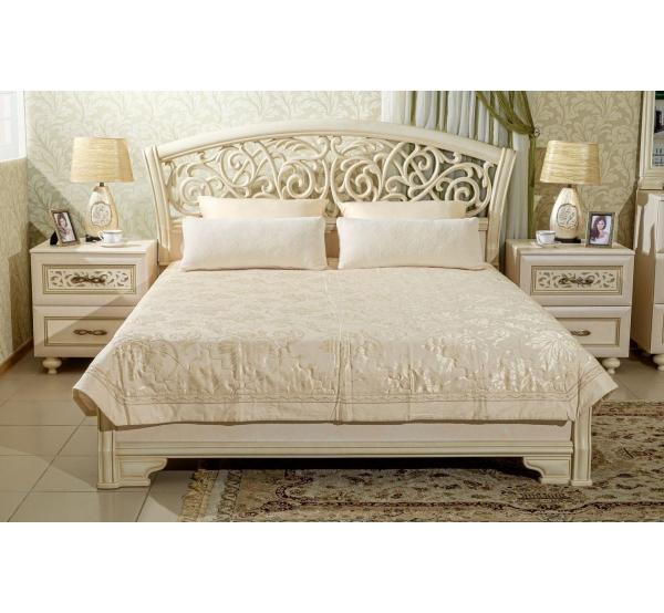 Спальня Александрия - кровать+ 2 тумбы
