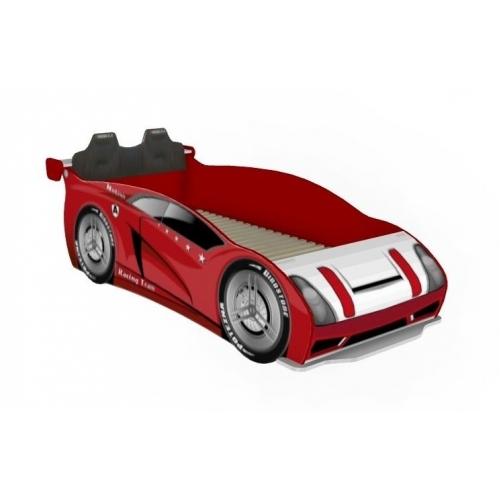 Кровать-машина 800 со спинкой Формула