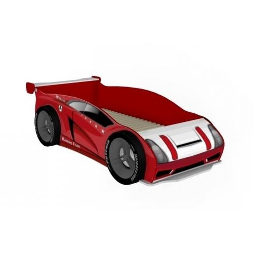 Кровать-машина 800 с колесами Формула