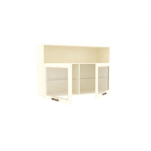Шкаф навесной (Кожа Ленто) Александрия