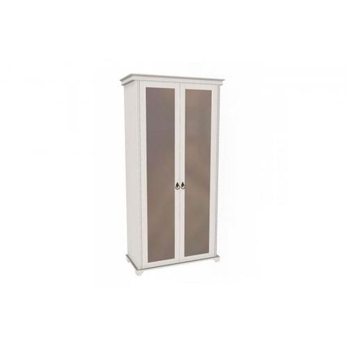 Шкаф двухстворчатый с зеркалом (гостиная) Амели
