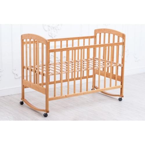 Детская кроватка «LAMA» Eco Style. Без покрытия лаком.