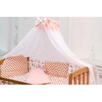 Детская кроватка «LAMA» ольха натуральный лак
