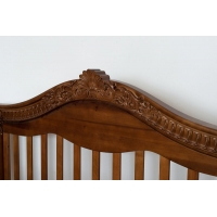 Детская кроватка «VIVA Victoria» орех