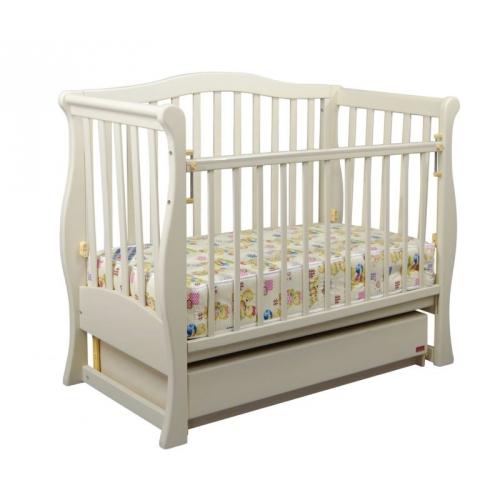 Детская кроватка «VIVA» Premium ваниль