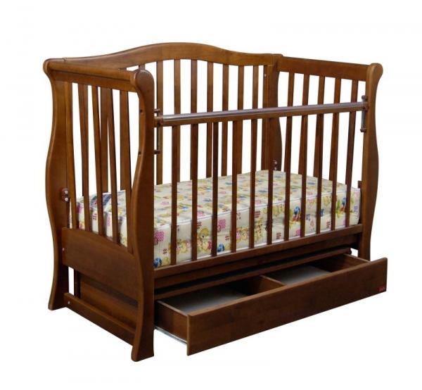 Детская кроватка «VIVA» premium орех