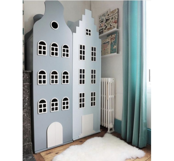 Детский шкаф-домик Амстердам