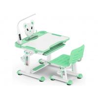Комплект парта и стульчик Evo-kids BD-04 XL Teddy с лампой