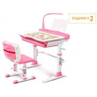 Комплект парта и стульчик Evo-kids Evo-19 (с лампой)