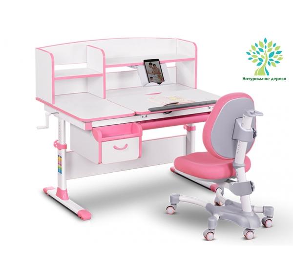 Комплект парта (дерево) и кресло Evo-kids Evo-50