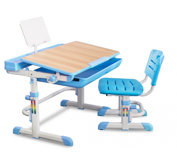 Детский комплект парта и стульчик Evo-kids Evo-04 клен