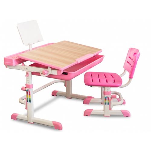 Комплект парта и стульчик Evo-kids Evo-04 XL клен