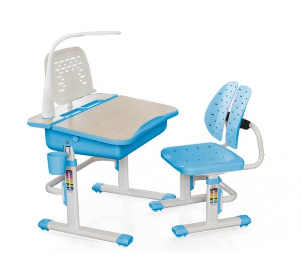 Комплект парта и стульчик Evo-kids Evo-03 (с лампой)