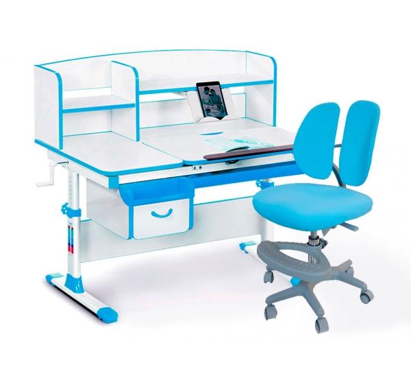 Комплект парта (дерево) Evo-kids Evo-50 и кресло Mio-2