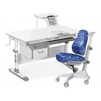 Комплект парта Evo-kids Evo-40 (дерево) и кресло Match gray base