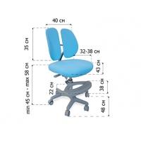 Комплект парта Evo-30 (натуральное дерево) и кресло Mio-2 c лампой