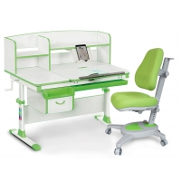 Комплект парта (дерево) Evo-kids Evo-50 и кресло Onyx