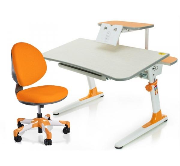 Детский комплект парта и кресло Mealux Edison + Vena