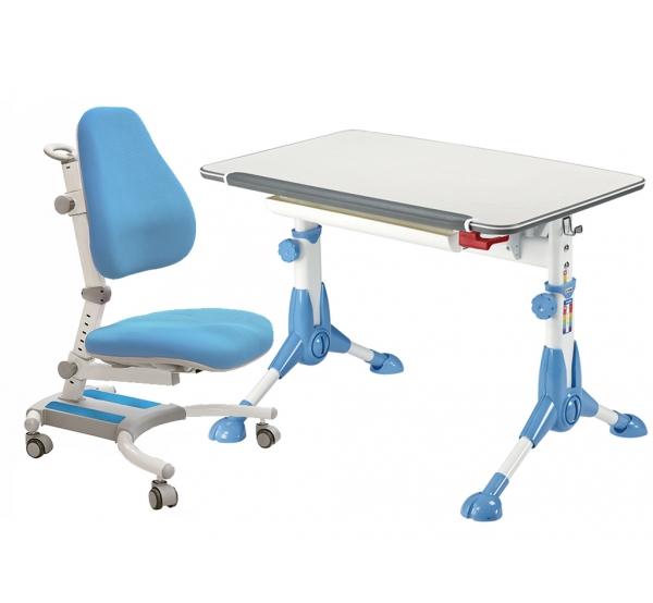 Детский комплект парта и кресло Mealux Rene + Omega