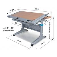 Стол трансформер с ящиком Tokyo-2 Mealux