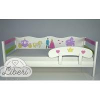 """Кровать детская декорированная """"Принцесса"""""""