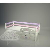 """Кровать детская """"Золушка pink-Классик"""""""
