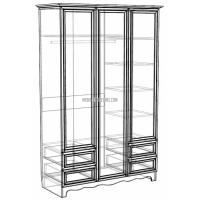 Шкаф-гардероб ШГ 5-44 Прованс