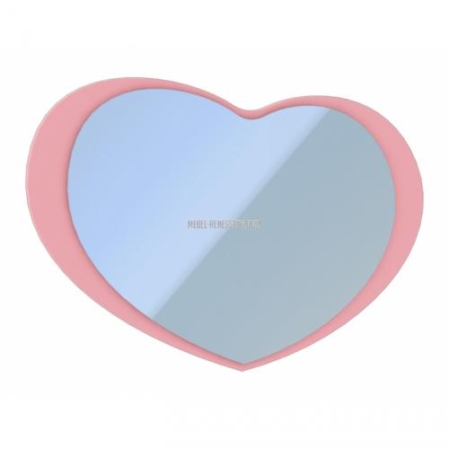 """Зеркало """"Сердце"""" Прованс"""