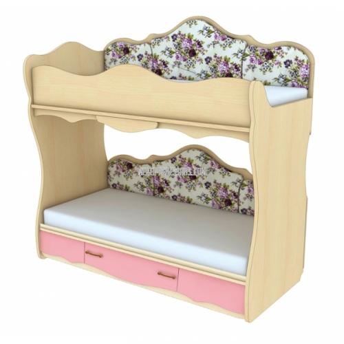 Двухъярусная кровать с увеличением спального места Прованс