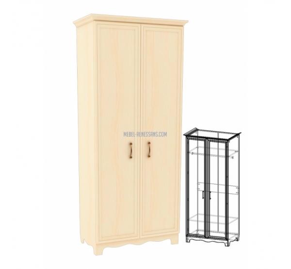 Шкаф-гардероб ШГ 4-2/1 Прованс