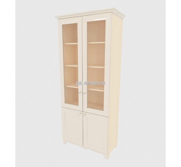 Детский книжный шкаф Гламур ШК 6-161