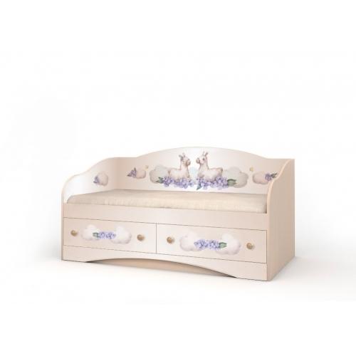 """Кровать детская """"Лама"""" D-1.07.75 Вальтер"""