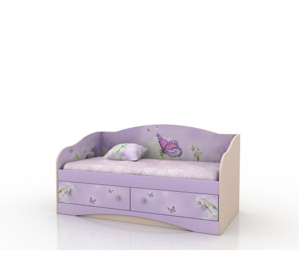 """Кровать детская """"Природа"""" D-1.07.38 Вальтер"""